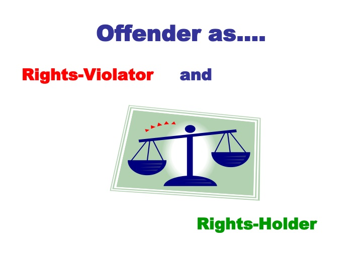 Offender as….
