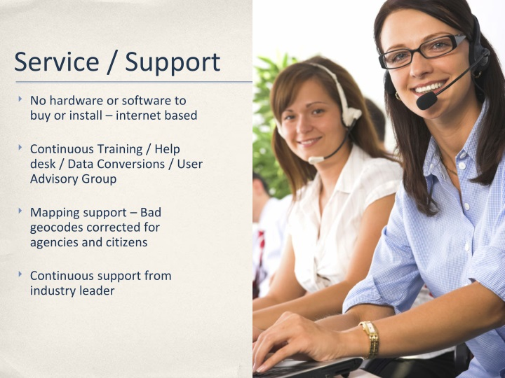 Service / Support