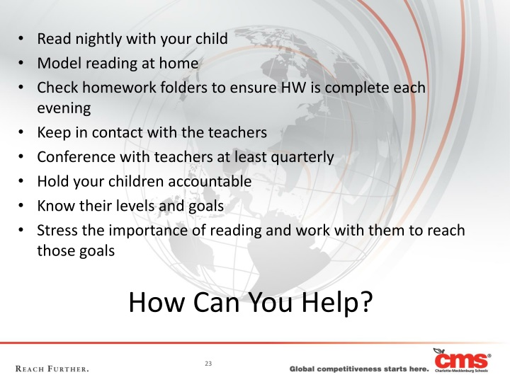 Read nightly with your child