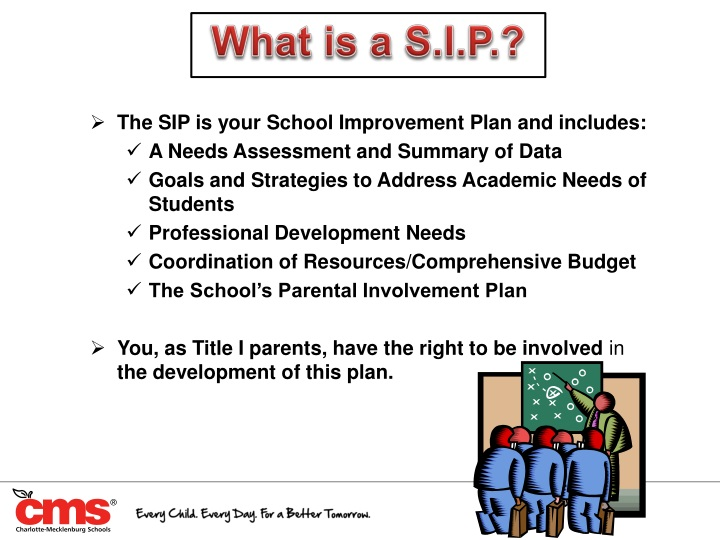 What is a S.I.P.?