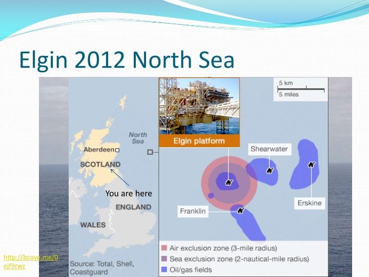 Elgin 2012 North Sea