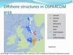 offshore structures in osparcom area