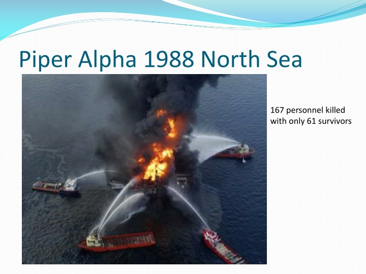 Piper Alpha 1988 North Sea