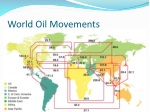 world oil movements