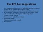 the epa has suggestions