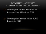 fatalities nationaly according to the cdc report