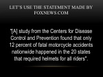 let s use the statement made by foxnews com