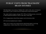 public costs from traumatic brain injuries