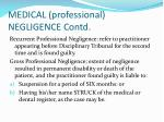 medical professional negligence contd4