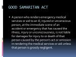 good samaritan act