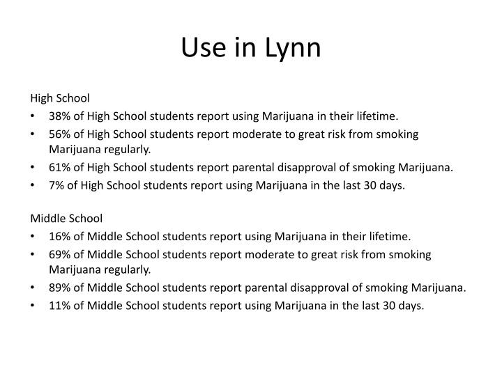 Use in Lynn