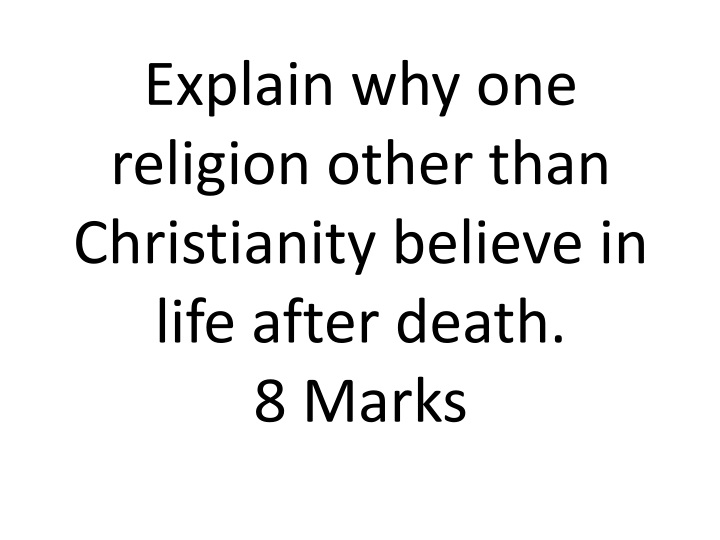 explain the life and death of The resurrection and the life (john 11:1-53)  our lord went on to explain to his disciples that lazarus  with the current obsession with life after death,.