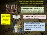 how do you find out what allah wants where does sharia law come from