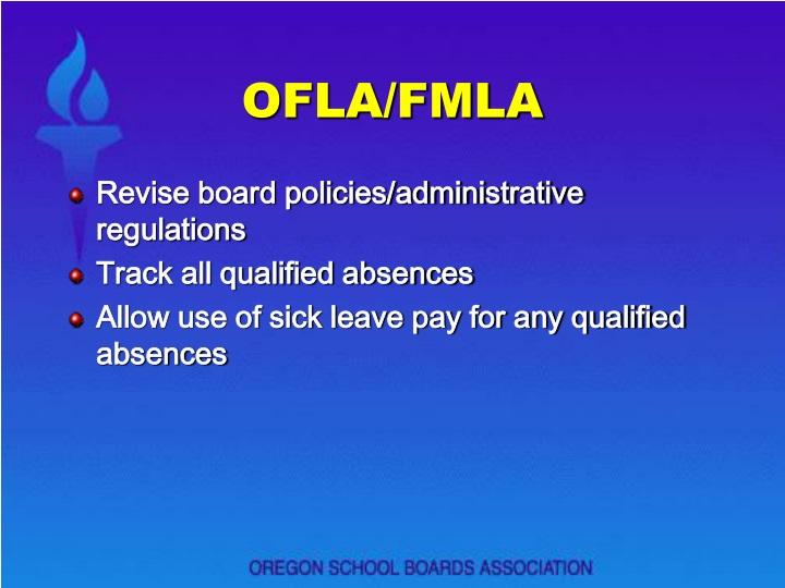 OFLA/FMLA