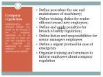 company regulation1