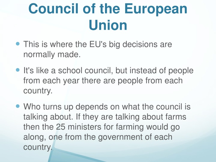 Council of the European Union