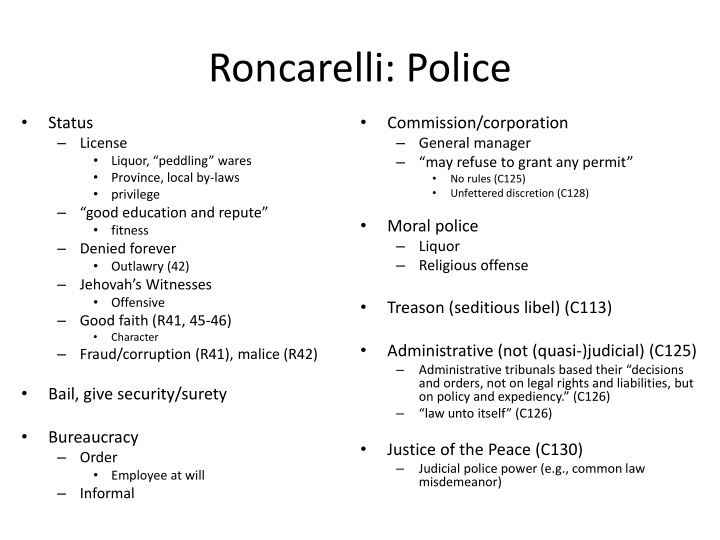 Roncarelli