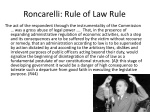 roncarelli rule of law rule