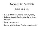 roncarelli v duplessis