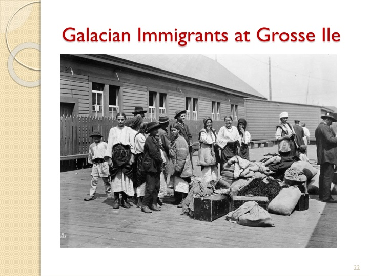 Galacian Immigrants at Grosse Ile