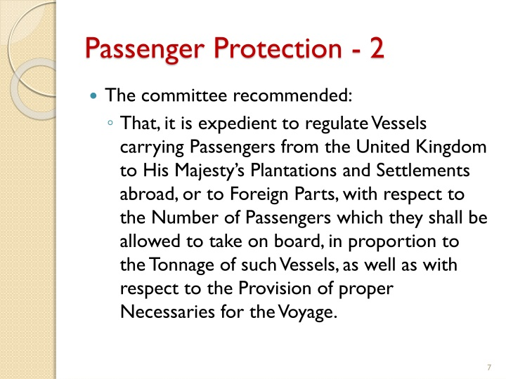 Passenger Protection - 2