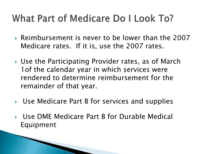 What Part of Medicare Do I Look To?