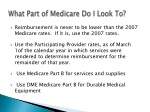 what part of medicare do i look to
