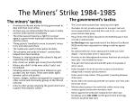 the miners strike 1984 19851