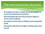 the international baccalaureate2