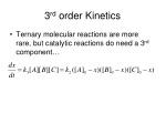 3 rd order kinetics