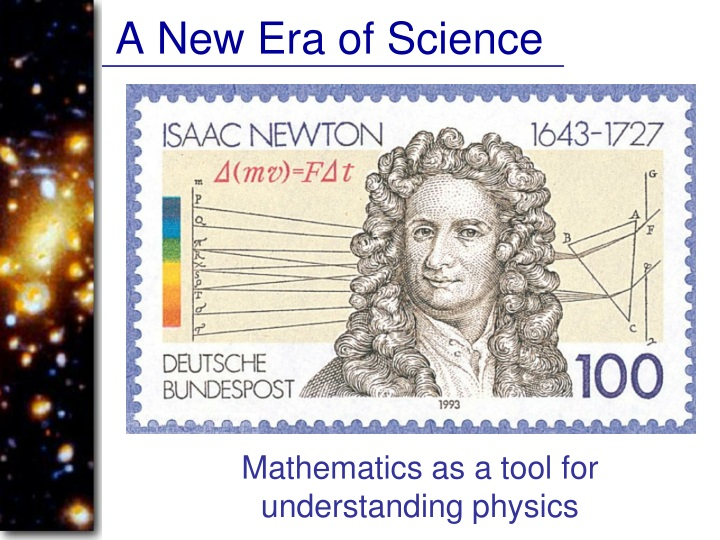 A New Era of Science