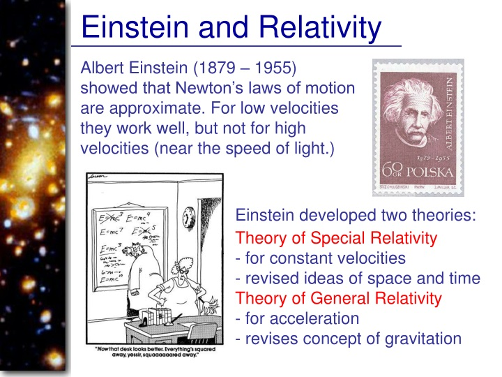 Einstein and Relativity
