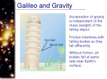 galileo and gravity