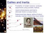 galileo and inertia