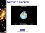 newton s cannon