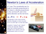 newton s laws of acceleration