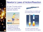 newton s laws of action reaction