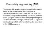 fire safety engineering adb