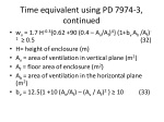 time equivalent using pd 7974 3 continued