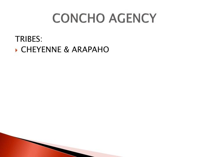CONCHO AGENCY