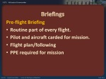briefings