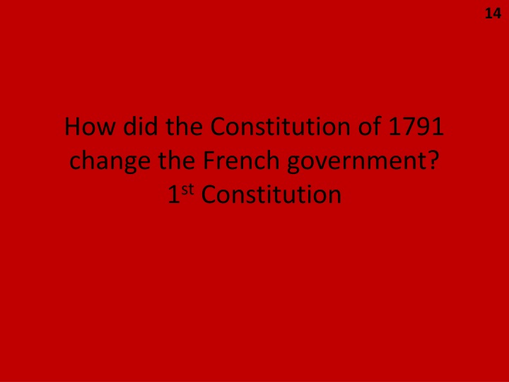 how to change the constitution