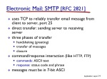electronic mail smtp rfc 2821