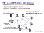 p2p file distribution bittorrent