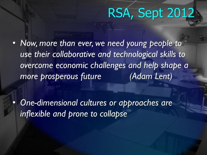 RSA, Sept 2012