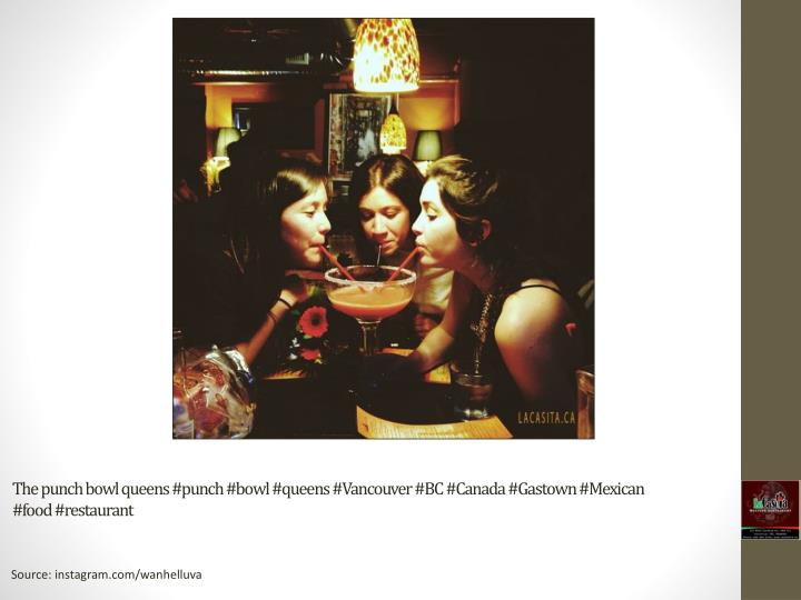 The punch bowl queens #punch #bowl #queens #Vancouver #BC #Canada #