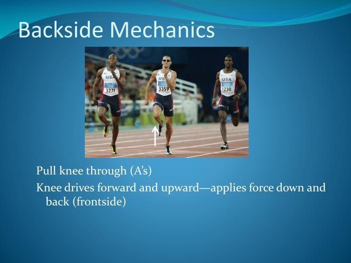 Backside Mechanics