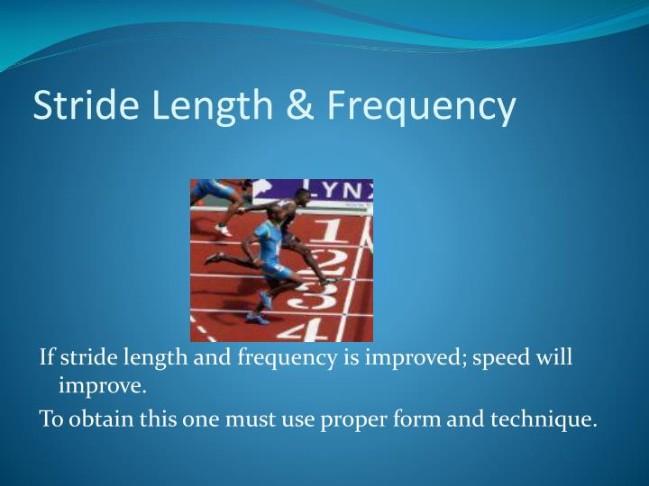 Stride Length & Frequency