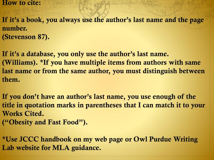 How to cite: