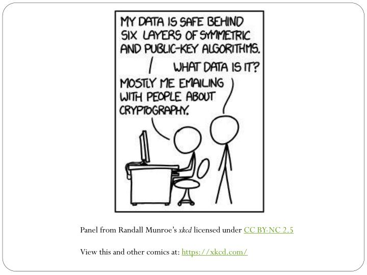 Panel from Randall Munroe's